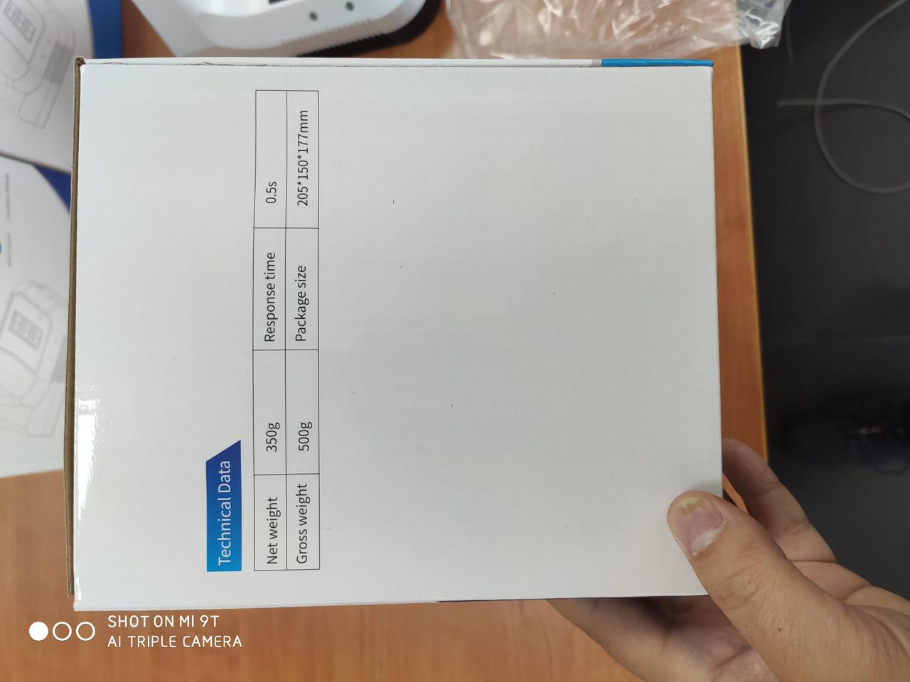 Cтационарный Бесконтактный инфракрасный термометр со штативом K3 Pro - фото 5