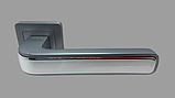 Дверная ручка Trinty WhiteCP, фото 3
