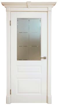 Дверь DL255 ДО, цвет Крем