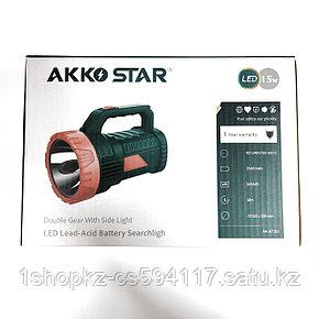 Ручной поисковый фонарь AKKO STAR 87283 15W, фото 2