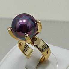 Кольцо с жемчугом / 18,5 размер / ЕВ54