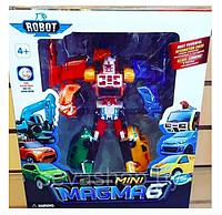 Робот-трансформер Тобот Magma 6 mini (6в1)
