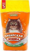 Наполнитель Сибирская Кошка Бюджет впитывающий 5 л