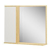 Шкаф навесной: 1 дверь и зеркало