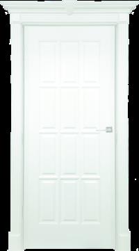 Дверь DL275 ДГ, цвет Белая эмаль