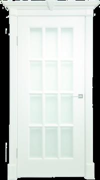 Дверь DL275 ДО, цвет Белая эмаль