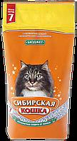 Наполнитель Сибирская кошка Бюджет, впитывающий, 7 л