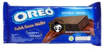 Вафли OREO Dutch Cocoa Wafer Double Choco с шоколадной начинкой, 140,4г (24шт-упак)