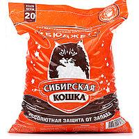 Наполнитель Сибирская кошка Бюджет, впитывающий, 20 л