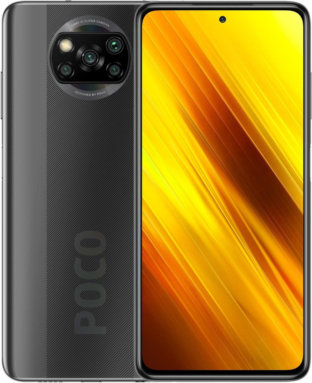 Xiaomi Poco X3 6/64Gb Shadow Gray + кэшбэк 7%