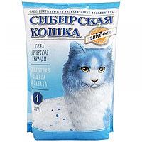 Сибирская Кошка Элитный силикагель (син. гран),