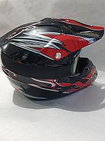 Мото шлем кроссовый FMVSS 218 DOT (мотошлем)