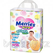 Трусики Merries размер M (6-11кг) 58 штуки