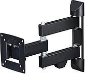 Кронштейн для телевизора Hama H-118112 черный 10-26 макс.20кг