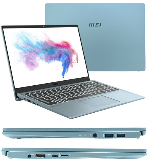 Ноутбук MSI Modern 14 B11M-266XKZ (Bluestone)