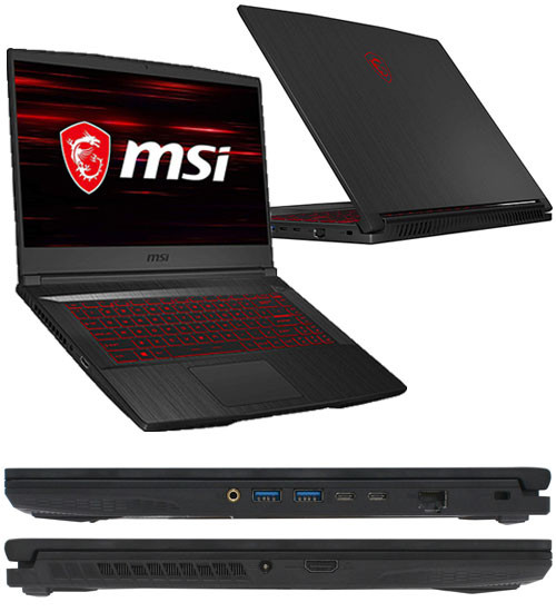 Ноутбук MSI GF65 Thin 9SEXR-1209XKZ
