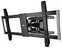 Кронштейн для телевизора Hama Fullmotion TV Premium, 118057, черный 37-90 макс.60кг