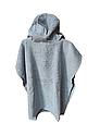 Пончо полотенце  серая акула, фото 2