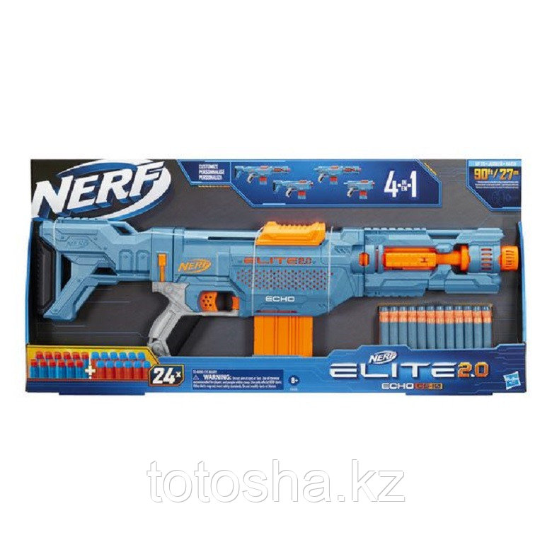 Бластер Nerf Elite 2.0 Echo Эхо, E9533