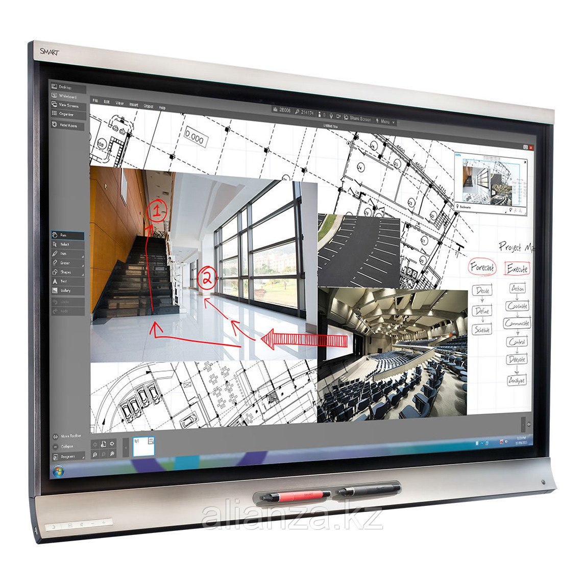 Интерактивный дисплей Smart SPNL-6265P interactive flat panel