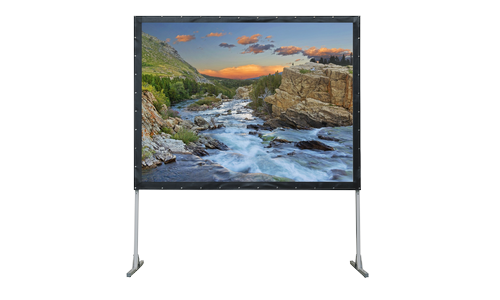 Экран Lumien Master Fold 321x422 см (200), (раб. область 305х406 см) Front Projection + Rear Projection - фото 2