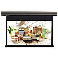 Экран Lumien Cinema Control 187x305 см (раб.область 166х295 см) (133) Matte White FiberGlass (чёрный корпус)