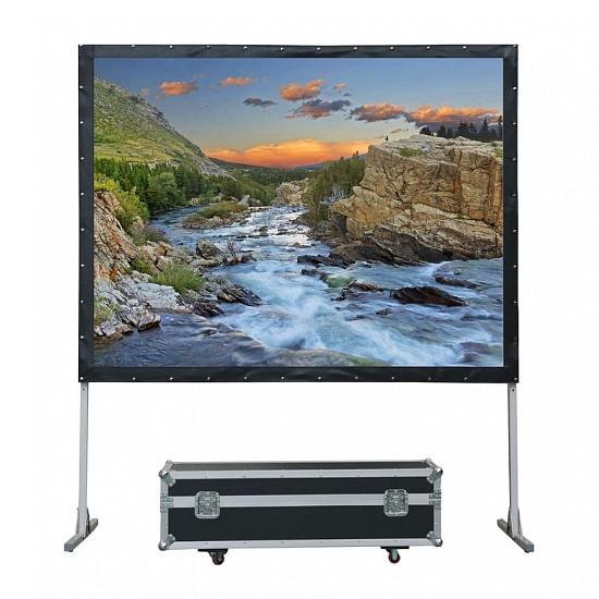 Экран Lumien Master Fold 245x321 см (150), (раб. область 229х305 см) Front Projection + Rear Projection - фото 1