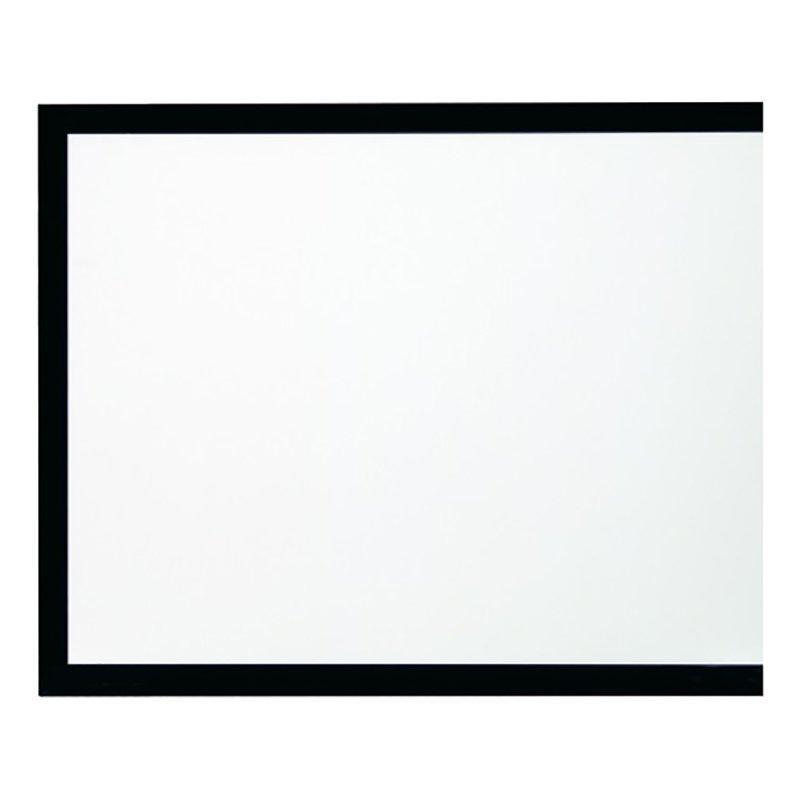 """Экран Kauber Frame Velvet Cinema 136"""" 16:9 White Flex, область просмотра 169x300 см., размер по раме 185х316"""