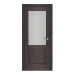 Межкомнатная дверь Венеция Белый матовый Сатинато