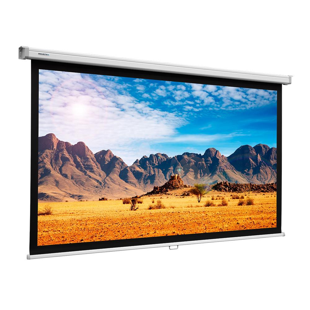 Экран Projecta SlimScreen 125x125 cm (67) Matte White настенный рулонный (10200061)