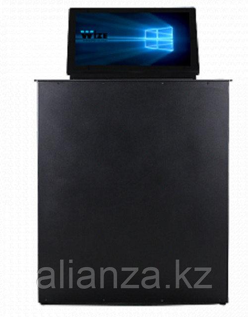 Моторизированный монитор Wize Pro WR-15GT silver