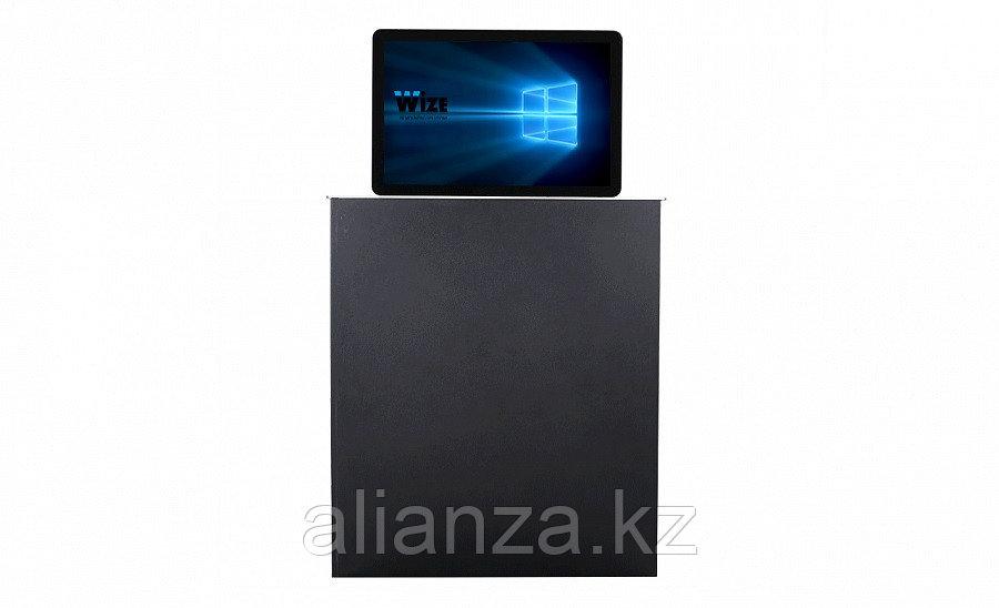 Моторизированный монитор Wize Pro WR-15B2 Touch silver