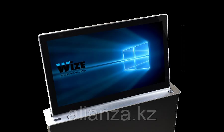 Моторизированный монитор Wize Pro WR-15GF Touch silver