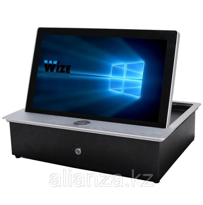 Моторизированный монитор Wize Pro WR-17CL Touch silver