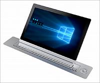 Моторизированный монитор Wize Pro WR-17GF Touch silver, фото 1