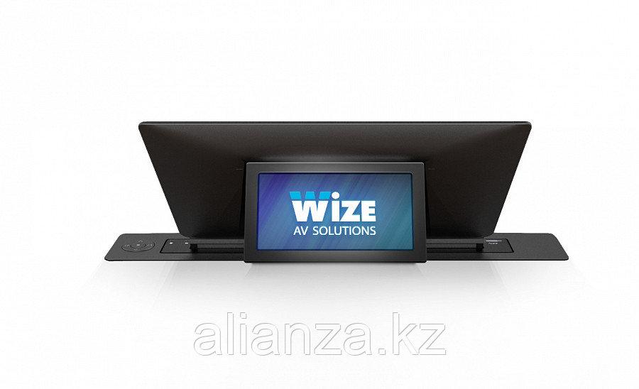 Моторизированный монитор Wize Pro WR-17BRS black
