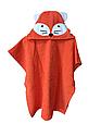 Пончо полотенце рыжий лис, фото 3