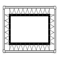 Экран Classic Solution Corvus (4:3) 530х403 (Z 508х381/3 RP-PS/S)