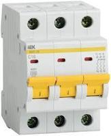 Выключатель авт. мод. 3п D 40А ВА 47-29 4.5кА ИЭК MVA20-3-040-D