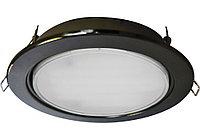 Ecola GX70 H5 светильник встраив. без рефл. Черненая бронза 53х151 (kd135)