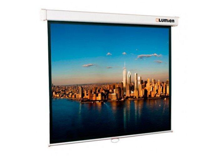 Экран Lumien Master Picture 128х220 см Matte White FiberGlass (белый корпус) LMP 100115