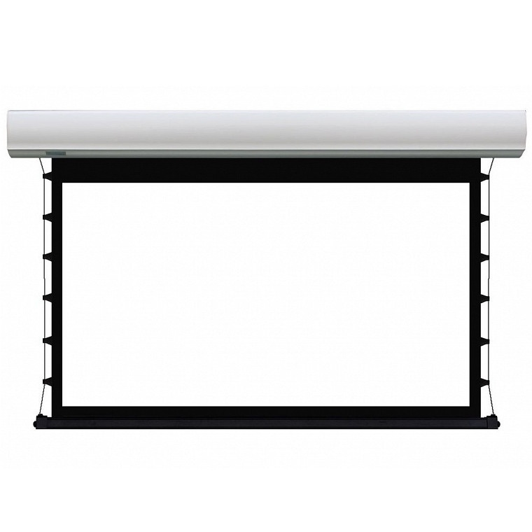 Экран Lumien Cinema Tensioned Control 186x317 см (раб.область 166х295 см) (133) Matte White (белый корпус)