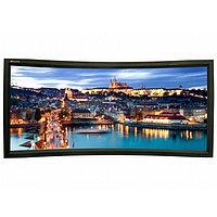 Экран Lumien Cinema Home Curved 148x252 см (раб. область 132х235 см) (106) Matte White, изгиб 25°