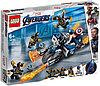 LEGO 76123 Marvel Super Heroes Капитан Америка Атака Аутрайдеров
