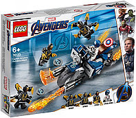 LEGO 76123 Marvel Super Heroes Капитан Америка Атака Аутрайдеров