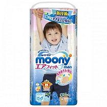 Трусики MOONY размер XL (12-22кг) 38 штуки для мальчиков