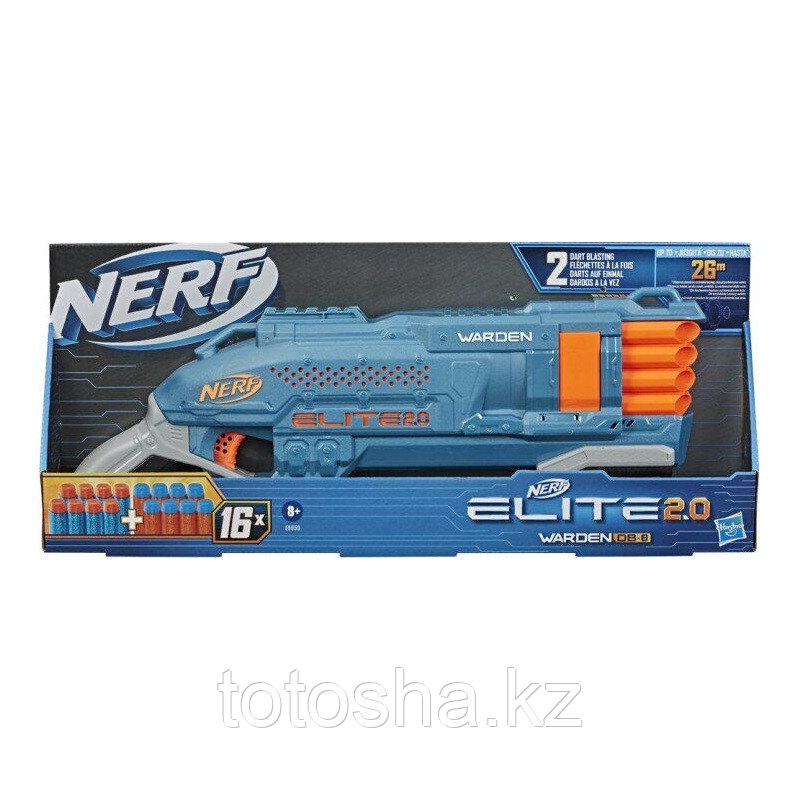 Бластер Nerf Elite 2,0 Warden DB-8 Варден ДБ-8 , E9959