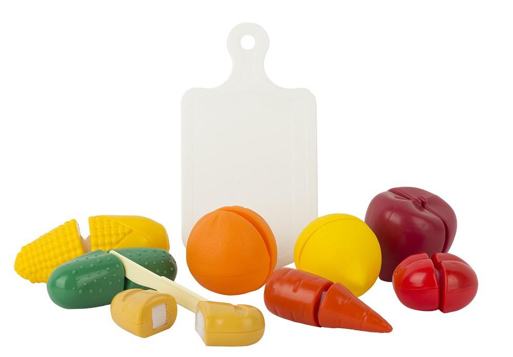 """Игровой набор """"Режем продукты"""" (10пр.) в пакете"""