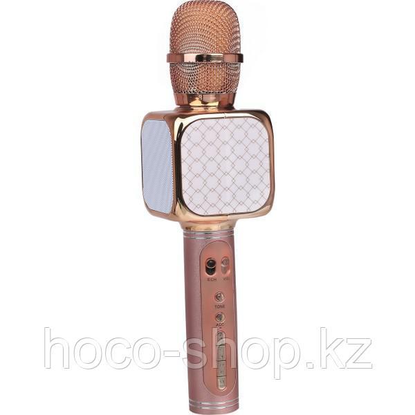 Bluetooth микрофон YS-69 rose-gold