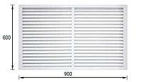 Решетки радиаторные 600 мм х 900 мм